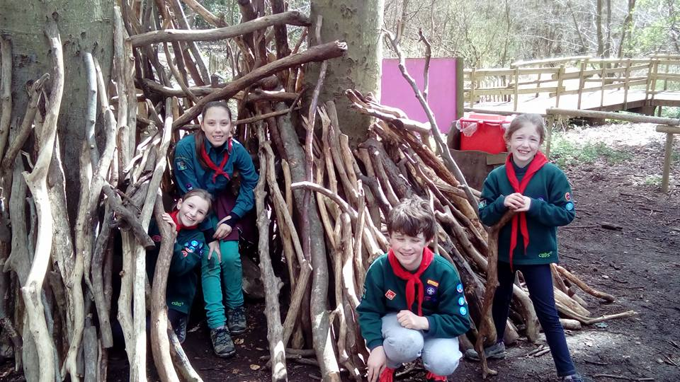 Cubs at BeWILDerwood 2016