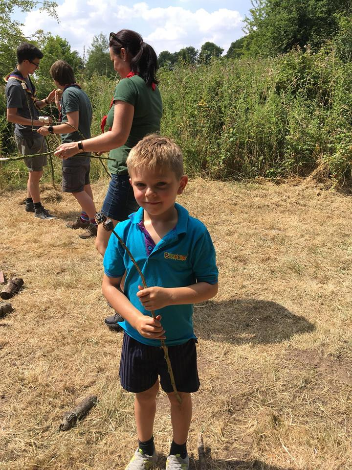 Beaver Activity Day in Horham 2018