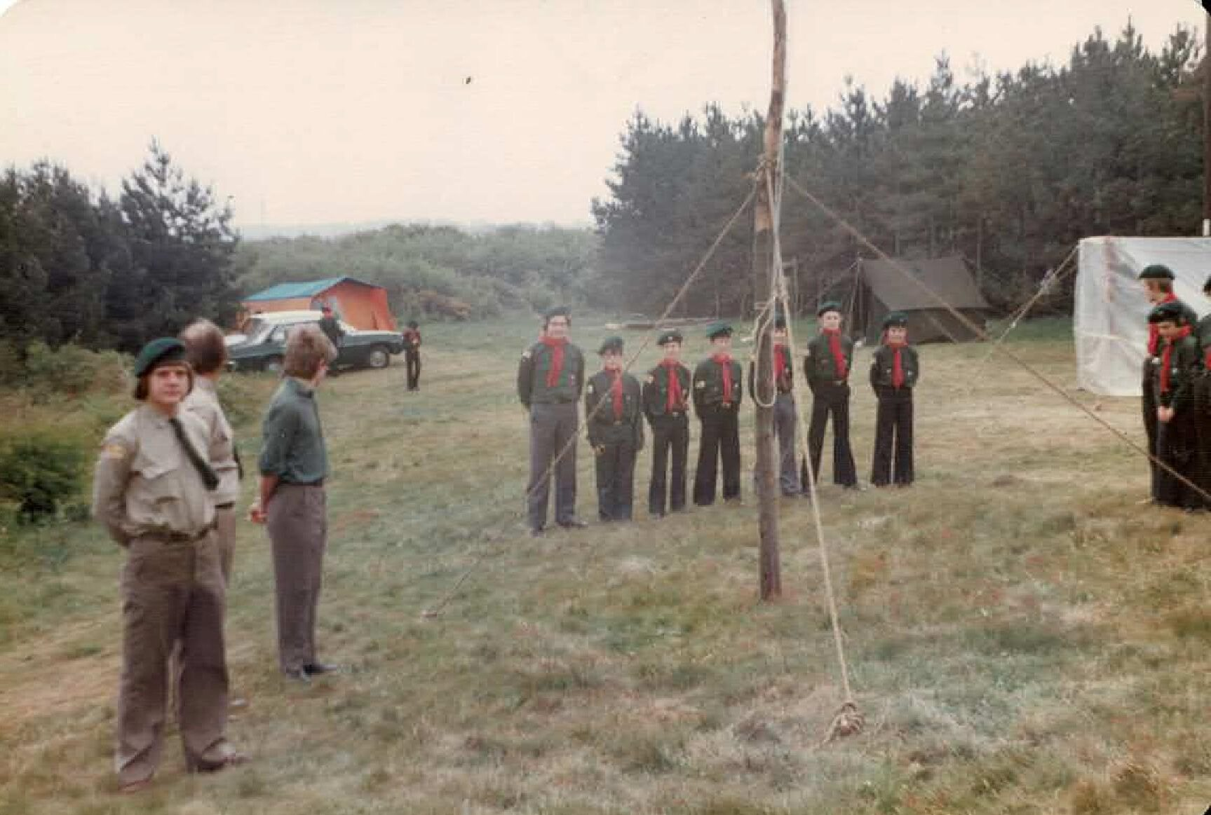 North Norfolk Scout Camp 1979